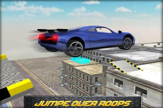Speedy Stunts Car 3D poster