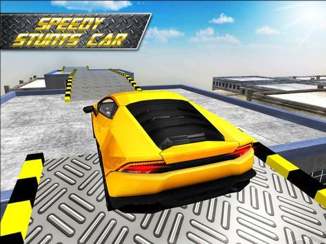 Speedy Stunts Car 3D apk screenshot