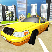 Taxi Simulator 3D Free icon