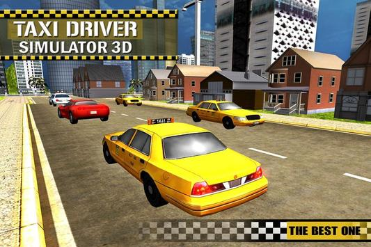 Taxi Simulator 3D Free poster