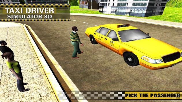 Taxi Simulator 3D Free apk screenshot