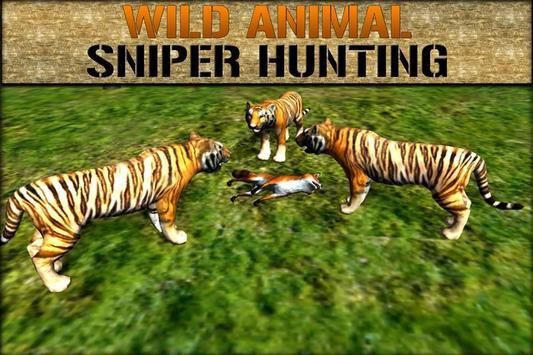 Wild Animals Sniper Hunting 3D poster