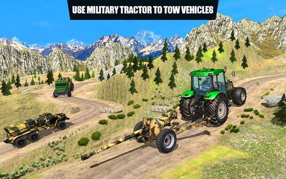 US Army Tractor Cargo 2018 – Offroad Game screenshot 3