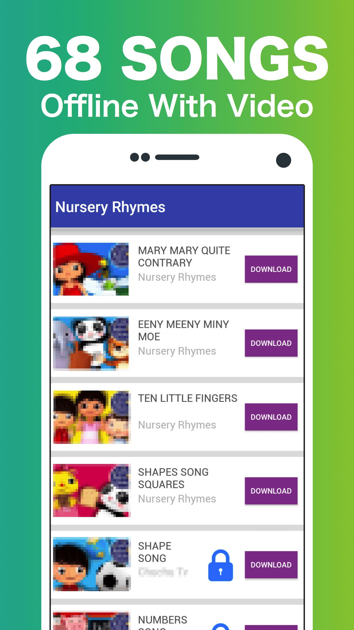 Little Baby Bum +60 Offline Nursery Rhymes Videos for ...