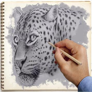 How to draw animals poster