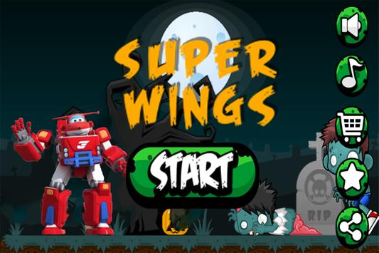 Super Wings Zombies Hunter poster