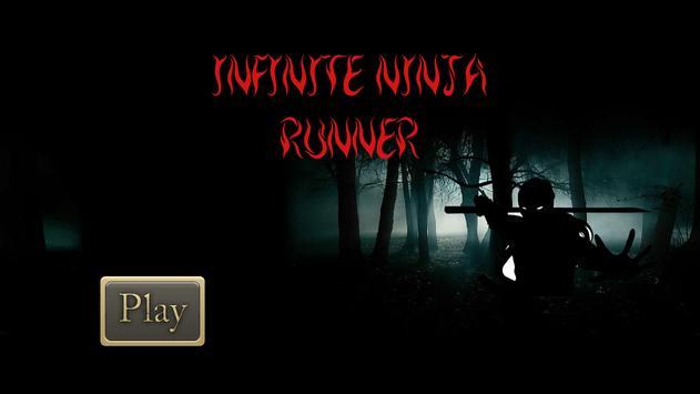 Infinite Ninja Runner poster