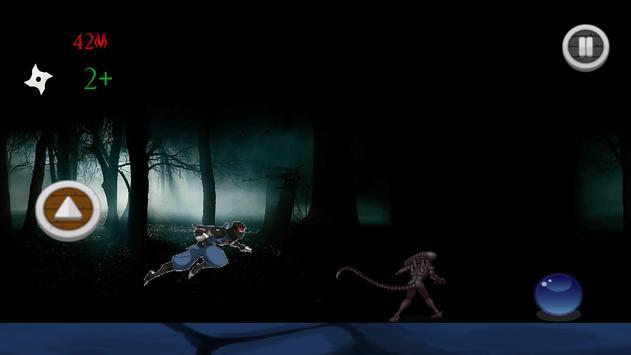 Infinite Ninja Runner screenshot 1