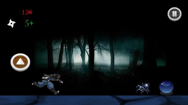 Infinite Ninja Runner screenshot 2