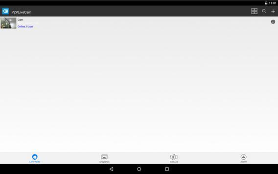 P2PLiveCam screenshot 4