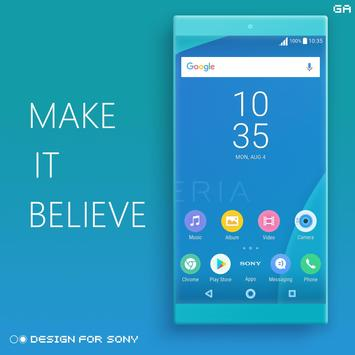 Theme XPERIA ON™ | Be Blue - 🎨Design For SONY screenshot 4