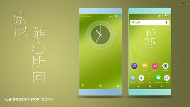 COLOR™ Theme   GREEN - Design For Xperia 🎨 poster