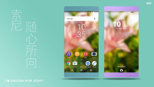 Theme XPERIA ON™ | Be Green poster