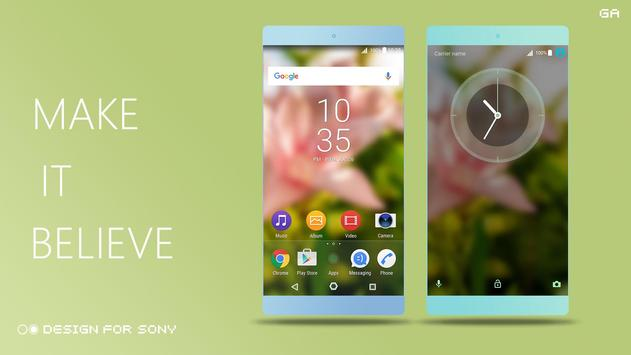 Theme XPERIA ON™ | Be Green apk screenshot