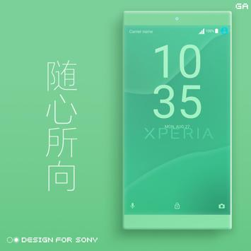 Theme XPERIA ON™ | Be Green - 🎨Design For SONY screenshot 3