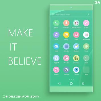 Theme XPERIA ON™ | Be Green - 🎨Design For SONY screenshot 6