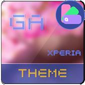 COLOR™ Theme | Red XPERIA icon