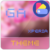 Theme XPERIA ON™ | Be Red icon