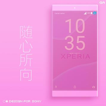 Theme XPERIA ON™ | Be Red - 🎨Design For SONY screenshot 3