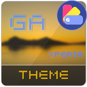 Theme XPERIA ON™ | Be Yellow icon