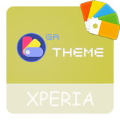Theme XPERIA ON™ | Be Yellow - 🎨Design For SONY icon