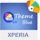 COLOR™ XPERIA Theme | BLUE-icoon