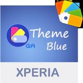 COLOR™ XPERIA Theme | BLUE icon