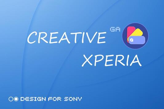 GALAXY XPERIA Theme | JUST BLUE 🎨Design For SONY screenshot 5