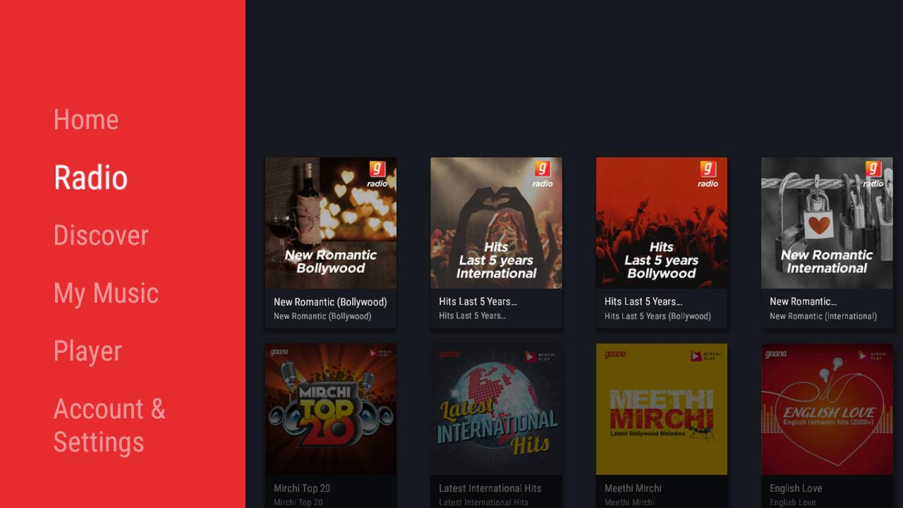 Gaana for Android TV for Android - APK Download
