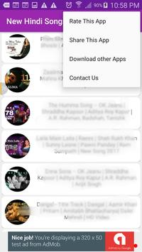 New Hindi Songs apk screenshot