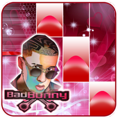 BAD BUNNY PIANO TILES icon