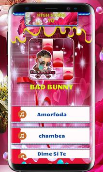 BAD BUNNY PIANO TILES screenshot 1