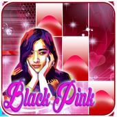 BLACK PINK PIANO TILES icon