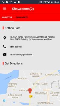 Kothari Cars apk screenshot