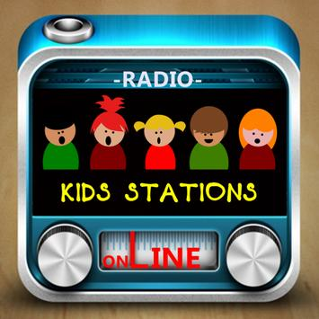 Kids Radio Stations الملصق