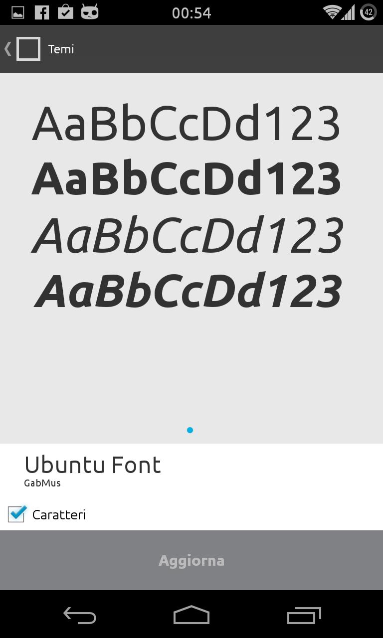 Ubuntu Font - CM11/PA for Android - APK Download