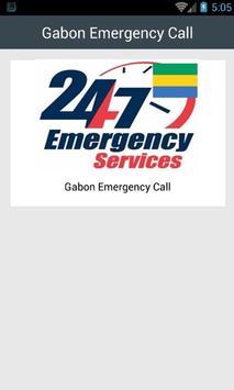 Gabon Emergency Call poster