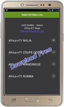 Radio FM Gabon Live poster