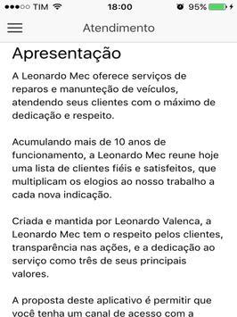 LeonardoMec apk screenshot