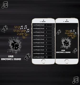 Loud Ringtones and Sounds poster