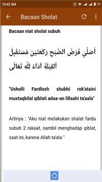 Bacaan Sholat apk screenshot