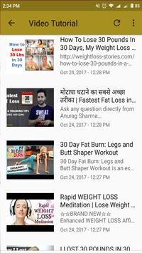 Lose Weight In 30 Days screenshot 4