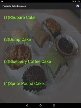 Favourite Cake Recipes screenshot 5