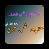 Hazrat Shah Shams Tabraiz (R.A icon