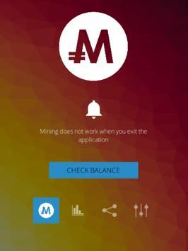 MonaCoin Miner screenshot 2