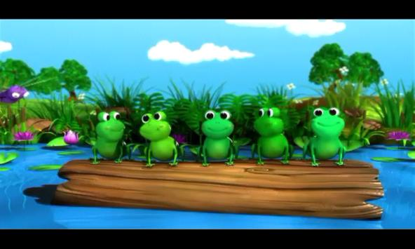 Five Little Frogs NURSERY screenshot 2