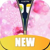 Diamond Zipper Lock Screen HD icon