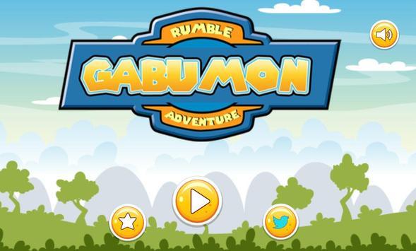 Gabumon Rumble Adventure apk screenshot