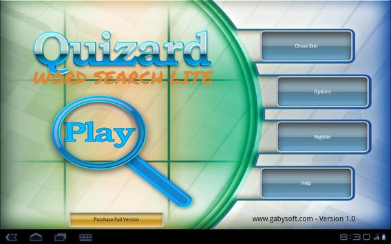 Quizard Word Search Lite poster