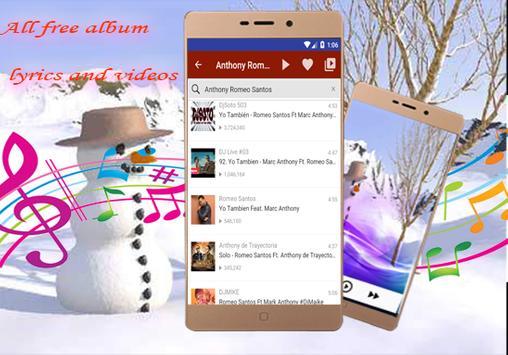 Anthony Romeo Santos-musica  letras - Imitadora screenshot 4